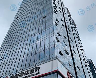 高空幕墙玻璃维修